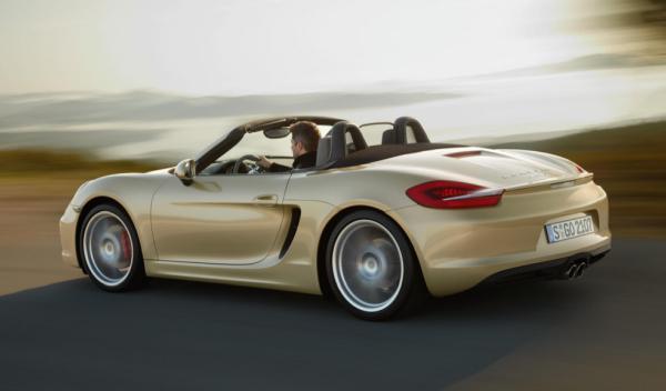 Porsche Boxter Salón de Ginebra 2012 trasera