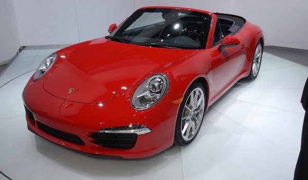Porsche 911 Cabriolet Salón de Ginebra 2012 frontal