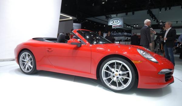 Porsche 911 Cabriolet Salón de Ginebra 2012 lateral