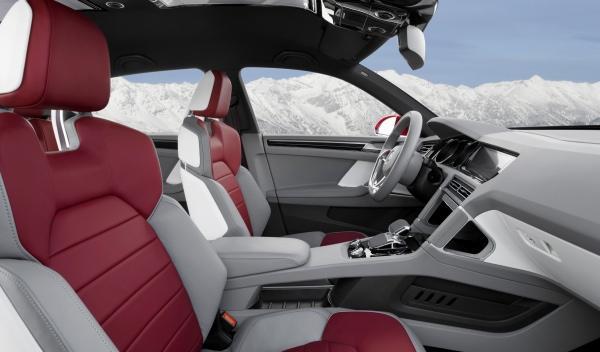 volkswagen cross coupé híbrido enchufable TDI interior salpicadero