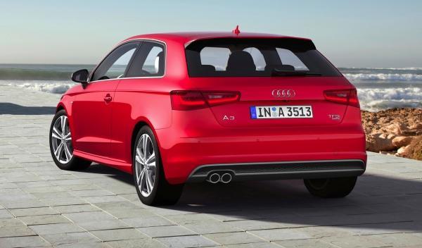 nuevo Audi A3 2012 estática trasera