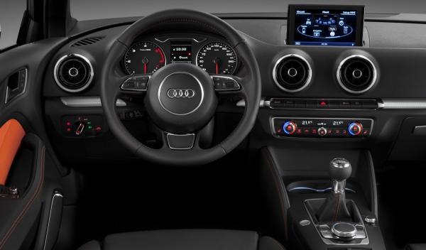 nuevo Audi A3 2012 interior salpicadero