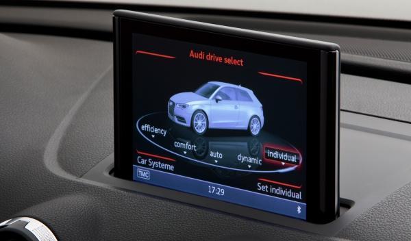 nuevo Audi A3 2012 interior pantalla