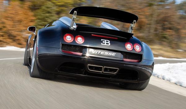 Bugatti Veyron Grand Sport Vitesse trasera