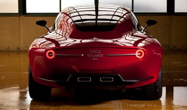 Alfa Romeo Disco Volante trasera  salón de Ginebra 2012