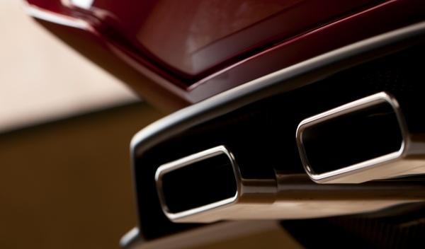 Alfa Romeo Disco Volante trasera detalle escapes salón de Ginebra 2012