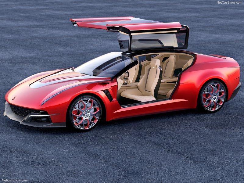 Italdesign Brivido Concept puertas salón de Ginebra 2012