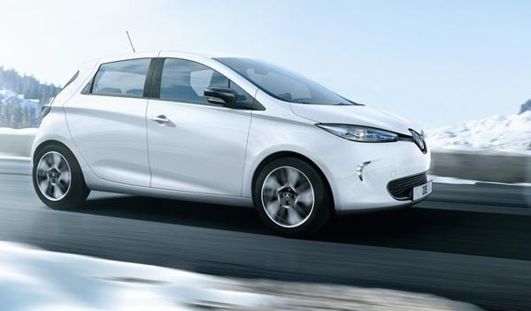 Renault ZOE 2012 perfil salón de Ginebra 2012