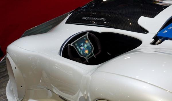 Valmet Down eléctrico Salón Ginebra estática volante puesto de conducción