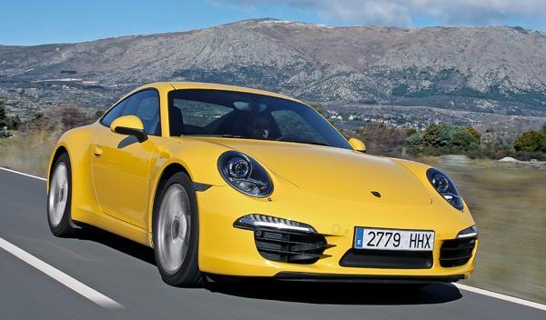Porsche 911 997 Carrera dinámica delantera