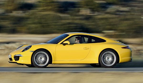 Porsche 911 997 Carrera barrido lateral