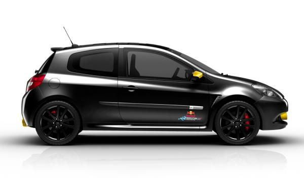 Renault Clio RS Red Bull RB7 perfil