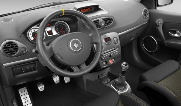 Renault Clio RS Red Bull RB7 interior