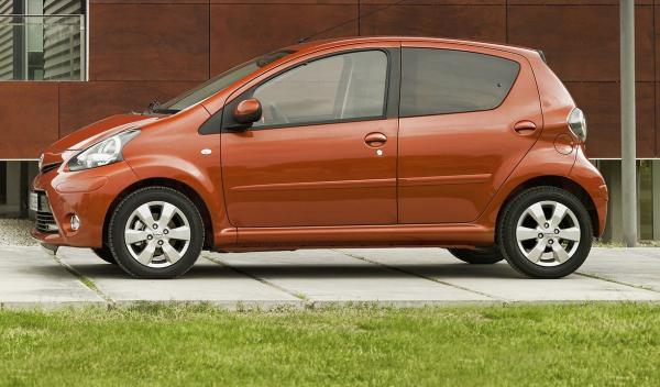 Toyota Aygo 2012 perfil