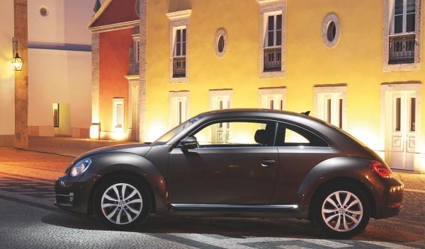 Nuevo Volkswagen Beetle lateral