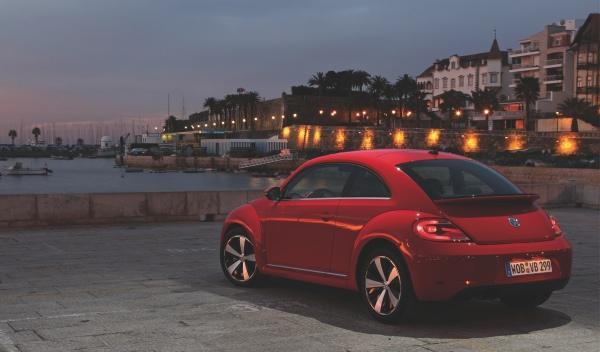Nuevo Volkswagen Beetle trasera