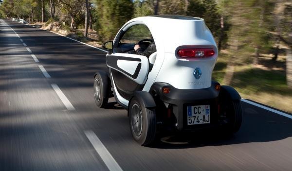 Renault Twizy trasera