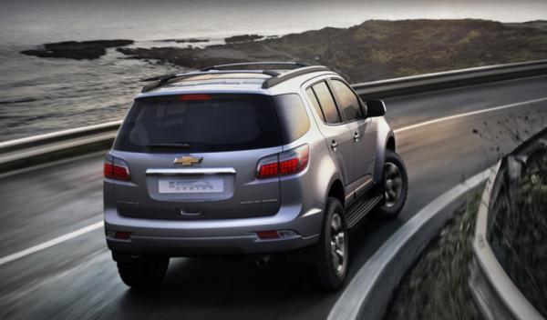 nuevo Chevrolet Trailblazer trasera