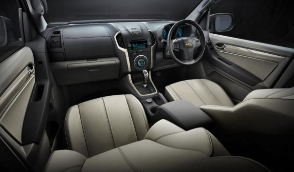 nuevo Chevrolet Trailblazer salpicadero