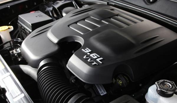 Motor del Dodge Challenger Rallye Redline