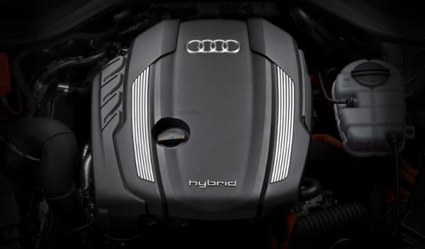 Audi A8 hybrid motor TFSI