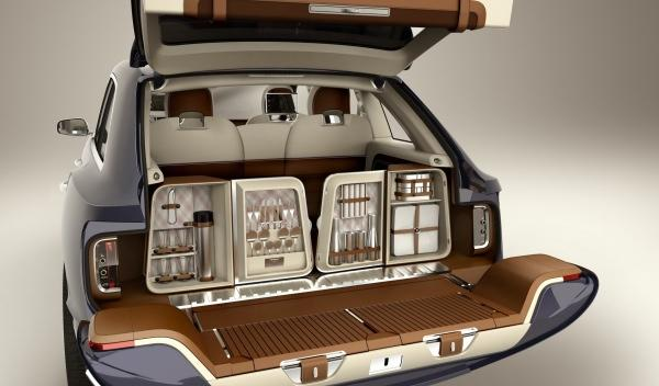 Maletero del Bentley EXP 9 F Concept