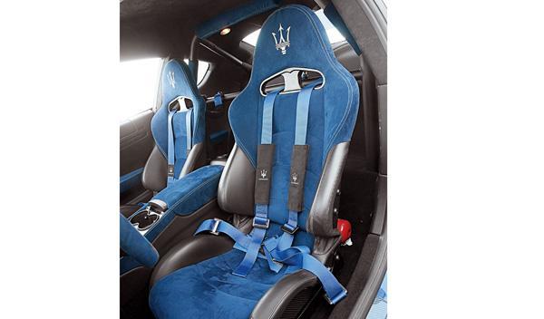 Maserati Gran Turismo MC Stradale bacquets