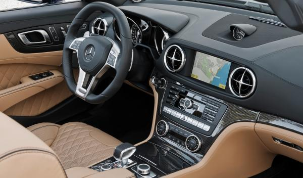 Mercedes SL 65 AMG 2012 interior