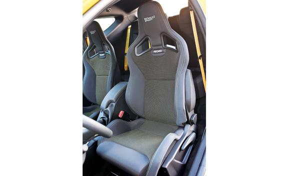 Renault Mégane RS Trophy interior asientos