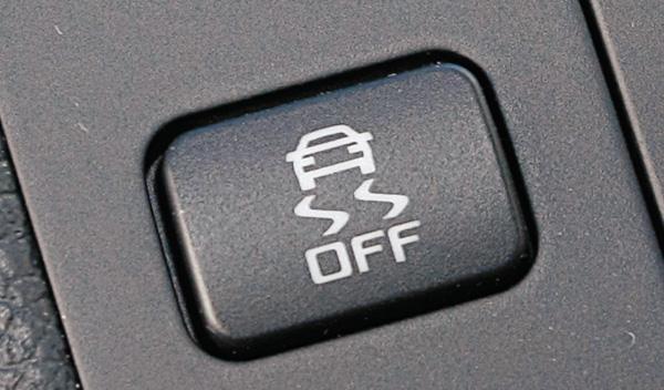 Botón ESP del Skoda Fabia Montecarlo