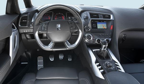 Interior del Citroën DS5