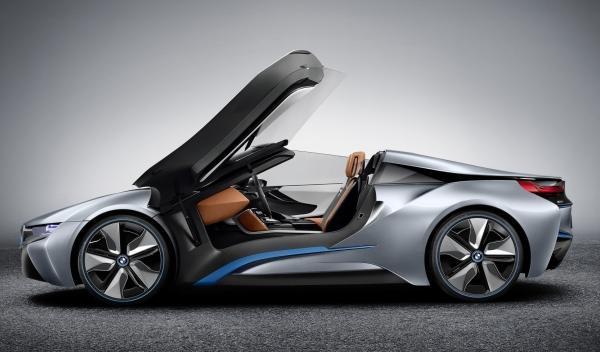 BMW i8 Concept Spyder perfil