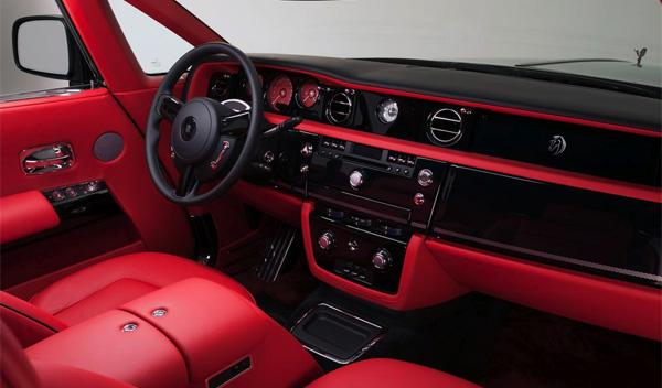 Rolls-Royce Phantom Mirage interior