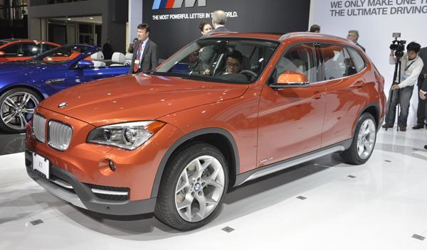 BMW X1 Salón Nueva York 2012