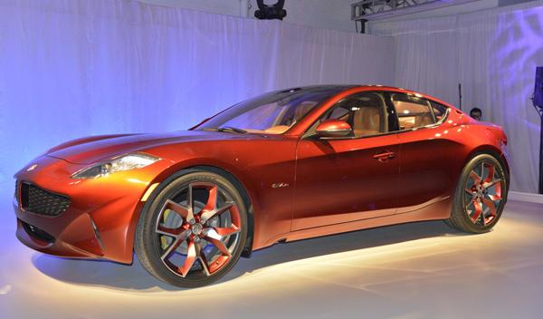Fisker Atlantic Salon Nueva York 2012