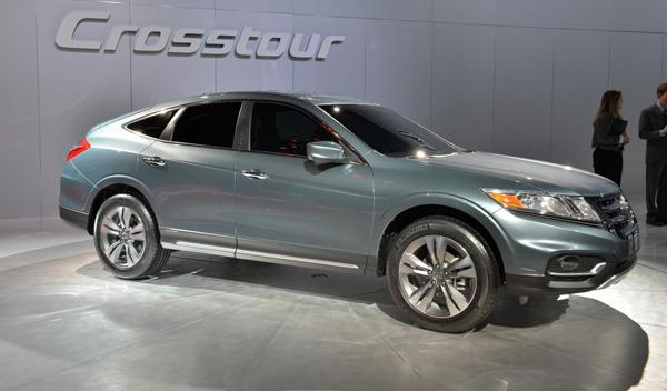 Honda Crosstour Salon Nueva York 2012