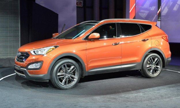 Hyundai Santa Fe 2012 Salon Nueva York 2012