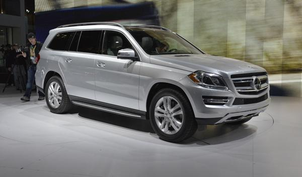 Mercedes GL 2012 Salon Nueva York 2012