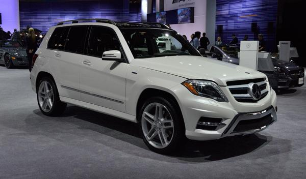Mercedes GLK 2012 Salon Nueva York 2012