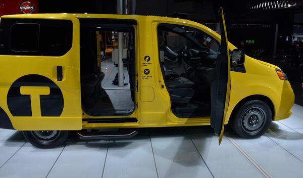 Nissan NV200 taxi nueva york Salon Nueva York 2012