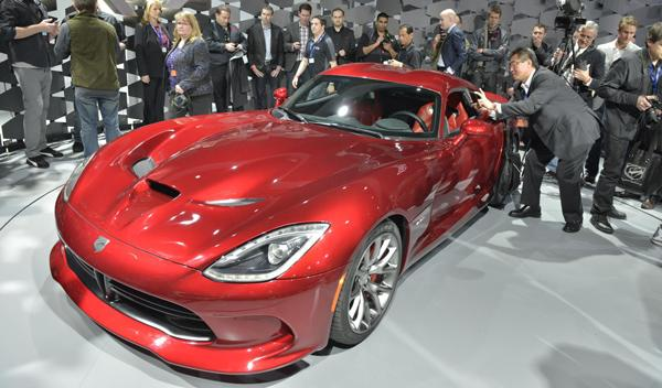 SRT Viper 2012 Salon Nueva York 2012