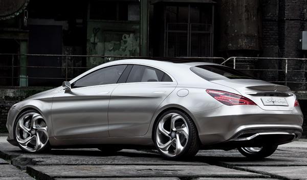 Mercedes Concept Style Coupe zaga