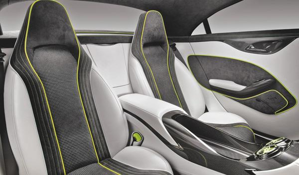 Mercedes Concept Style Coupe interior
