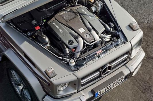 Nuevo Mercedes G 63 AMG motor