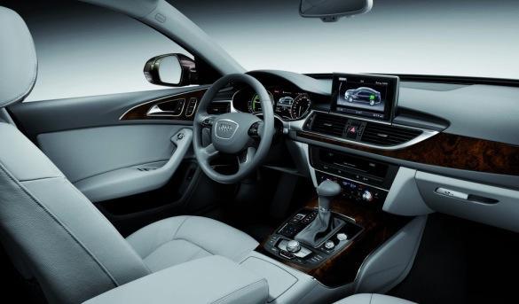 Audi A6 L e-tron concept interior