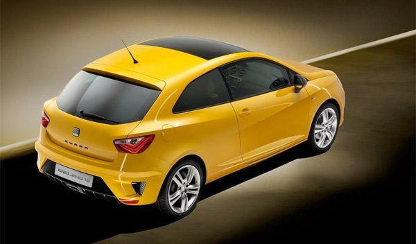 Seat Ibiza Cupra Concept Salón de China 2012