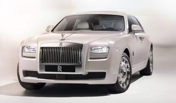 frontal del Rolls Royce 'Ghost Six Senses'