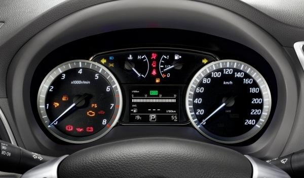 Nissan Sylphy Concept interior relojes