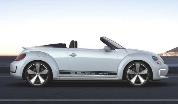 Lateral del Volkswagen E-Bugster