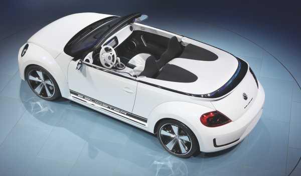 Interior del Volkswagen E-Bugster